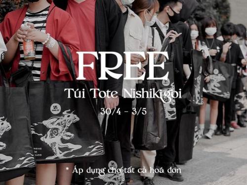 FREE NISHIKIGOI TOTE