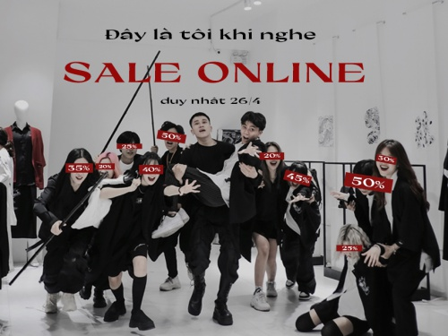 SALE UP TO 50% FOR ONLINE