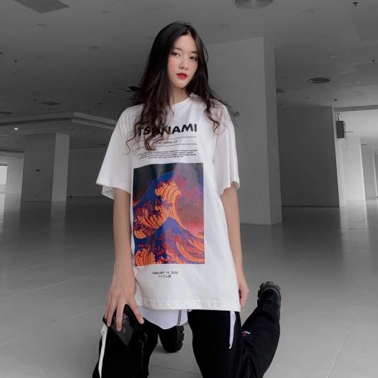 TSUNAMI TEE - WHITE