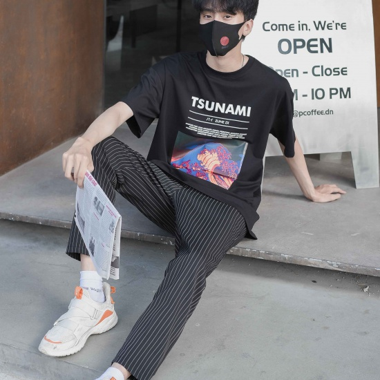 TSUNAMI TEE - BLACK
