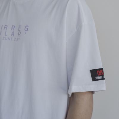 Irregular Tee - WHITE