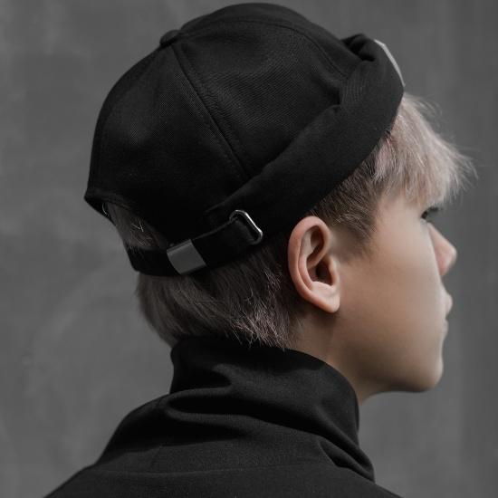 DOCKER HAT - BLACK