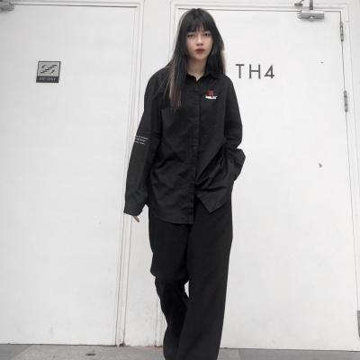 MINIMALIST SHIRT - BLACK