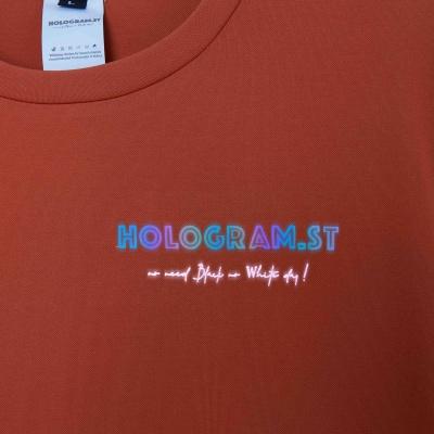HOLOGRAM.ST TEE (CAM ĐẤT)