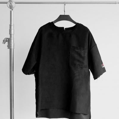 RAW SUEDE VER II - BLACK