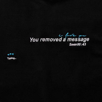 REMOVED MESSAGE TEE