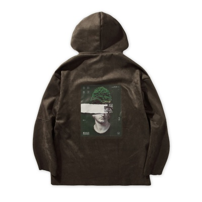 ONLY HUMAN HOODIE - MIDNIGHT GREEN