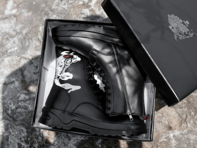 Nishikigoi Hightop Combat Boots - Dẫn lối hành trình chinh phục cái tôi khác biệt