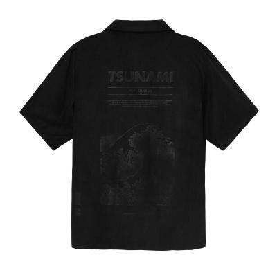 TSUNAMI SHIRT - BLACK