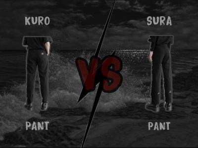 Không phải chất liệu, đây mới chính là điểm khác biệt của hai chiếc quần thế hệ mới | Kuro Pant & Sura Pant