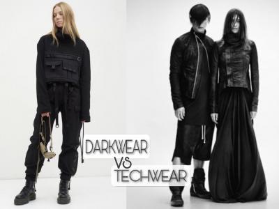 Sự trung lập giữa hai phong cách - Dark-wear, Techwear ?