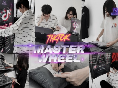 """Vén màn bức tranh vòng quay siêu """"phần thưởng"""" Tiktok Master Wheel : Phía sau """"vũ trụ Japan style""""."""